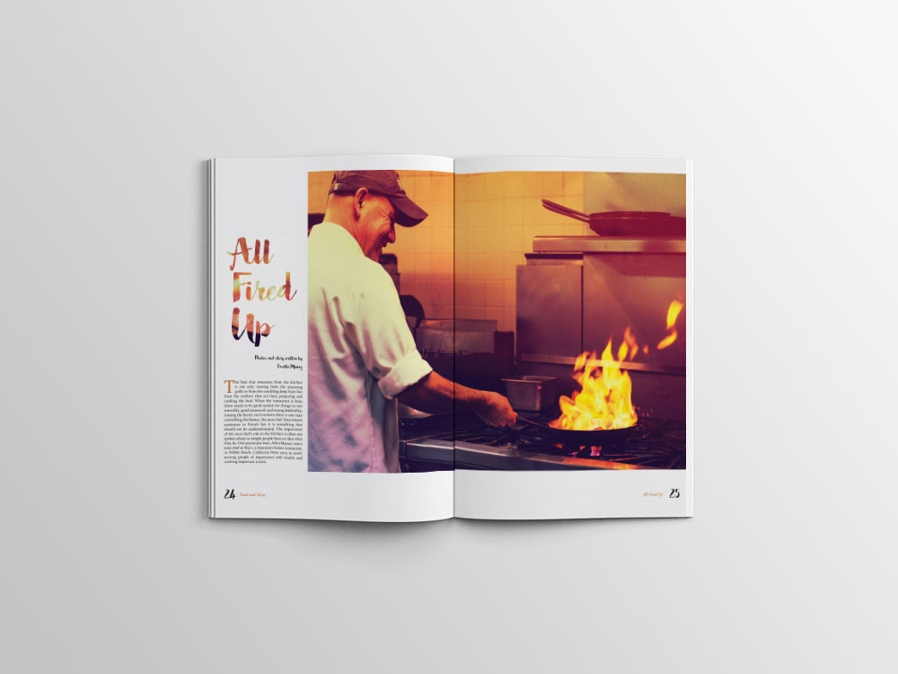 Sous Chef Editorial Mock Up